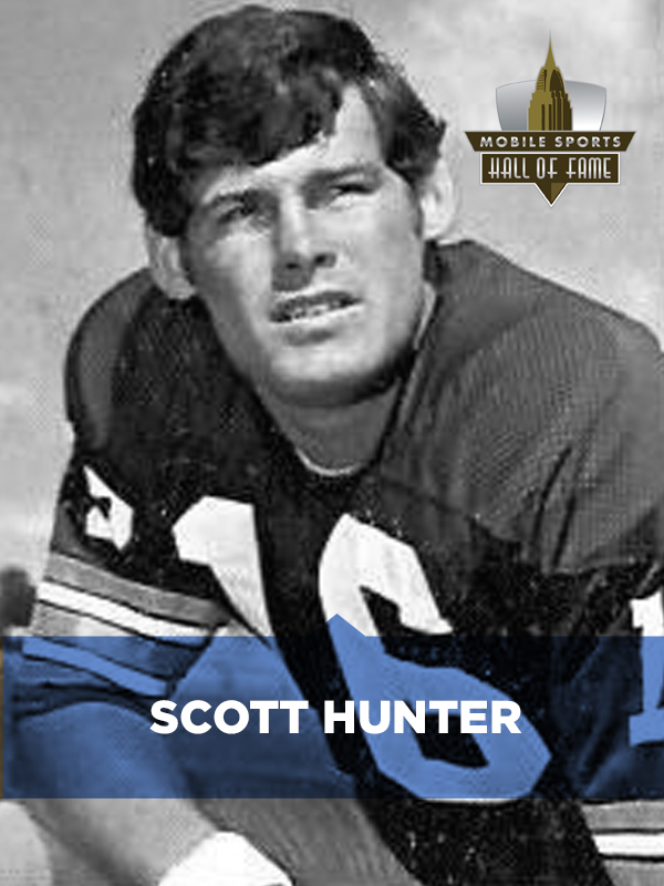 Scott Hunter grew up in Mobile, Alabama, and attended Vigor High School. He  went to college at the University of Alabama where he played quarterback  for the ...